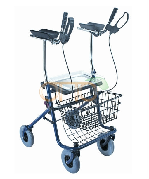 Steel Forearm Rollator Rehabilitation Equipments Rollator